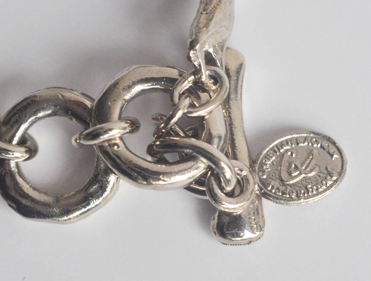 Christian Lacroix Silver-tone Necklace 10