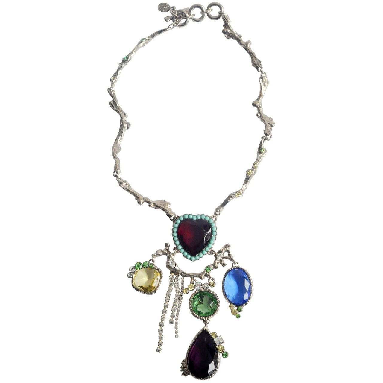 Christian Lacroix Silver-tone Necklace 1