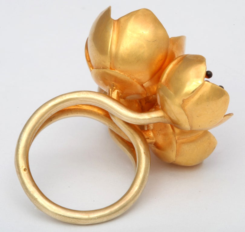 Rebecca Koven Buttercup Ring In Excellent Condition For Sale In New York, NY
