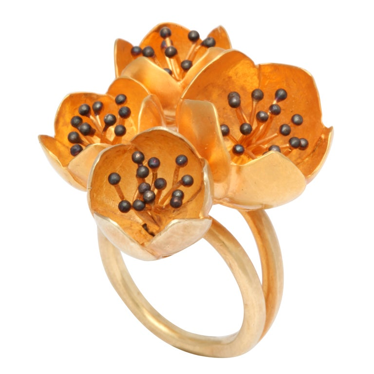 Rebecca Koven Buttercup Ring For Sale