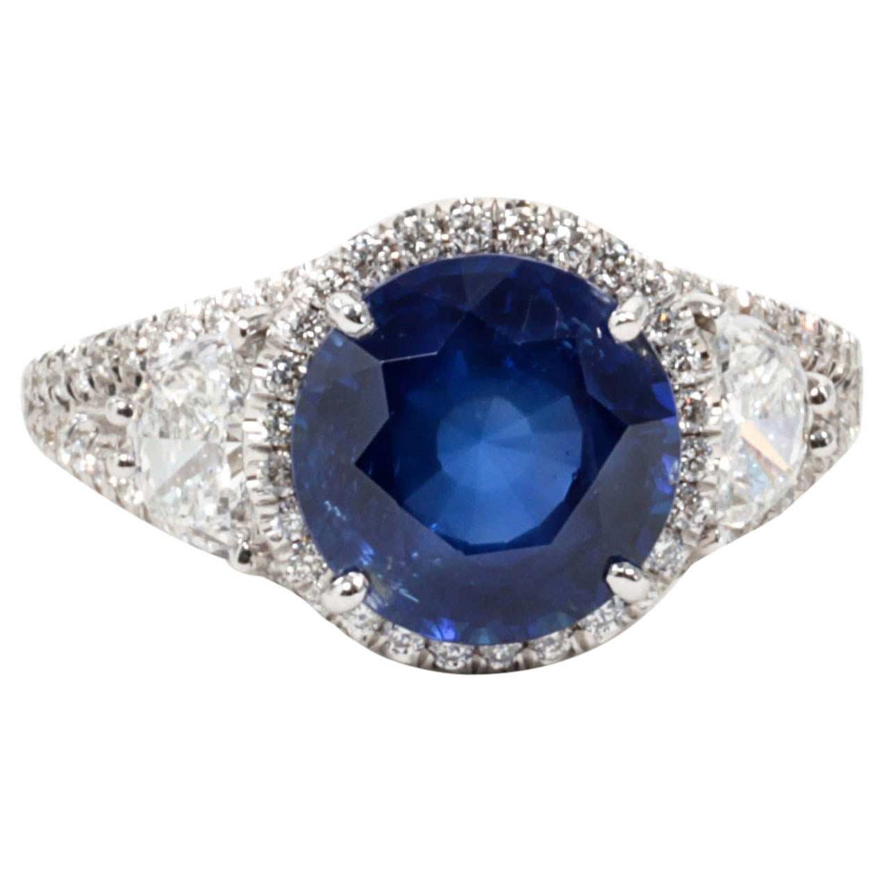 lotfinder g a lot details hgk diamond sapphire rare gubelin by ri jewelry belin ring and
