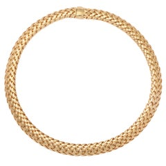 "Gold ""Vanerie"" Necklace by Tiffany & co"