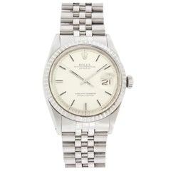 Rolex Stainless Steel Datejust Wristwatch Ref 16234
