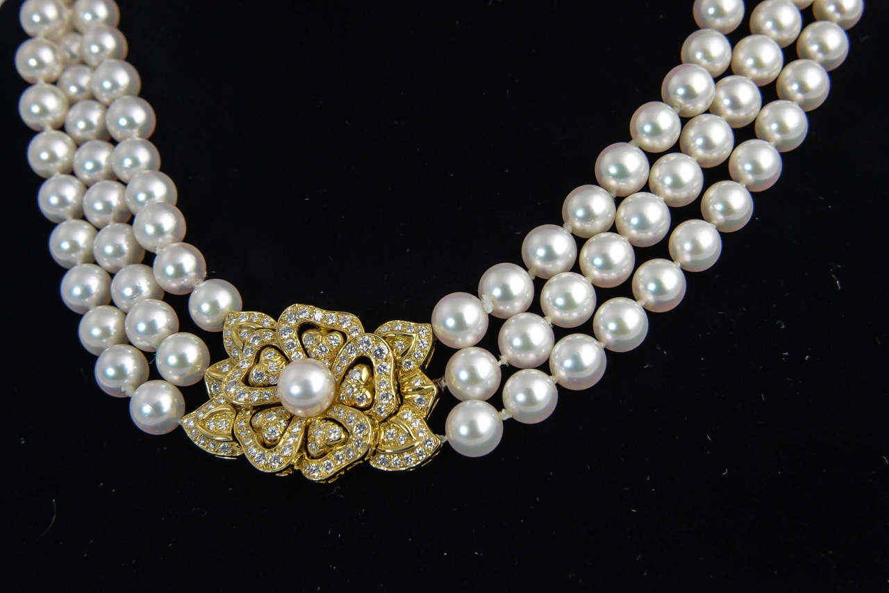 necklace motion b black in pearl pearls akoya south mikimoto sea