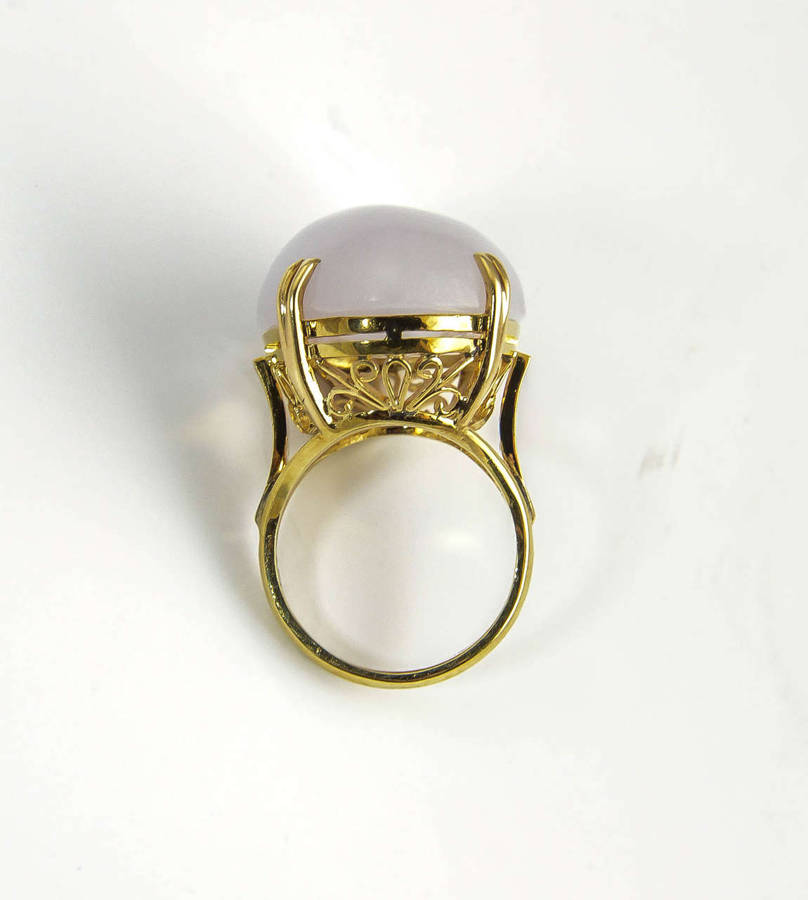 1970s lavender jade gold ring at 1stdibs