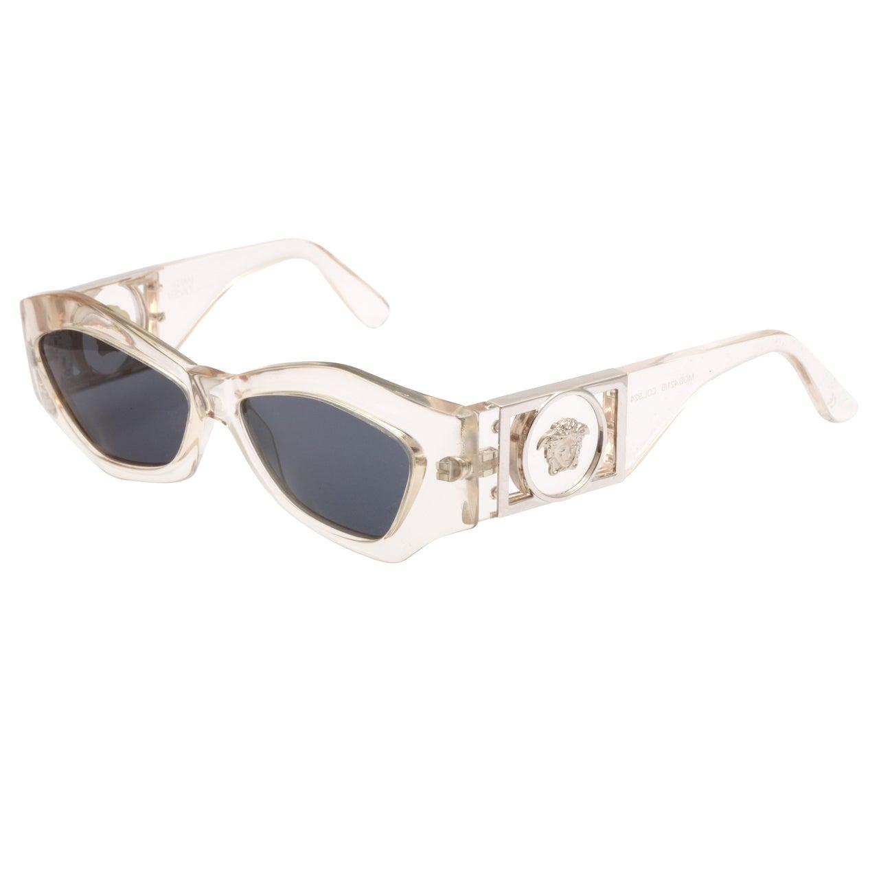 Vintage Gianni Versace Wayfarer Sunglasses Mod 405   ISEFAC Alternance
