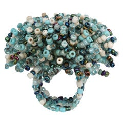 Venetian Glass Bead Ring