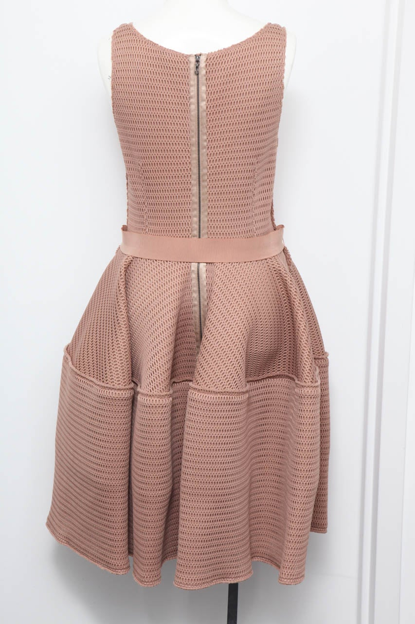 Brown Lanvin Sold-out Honeycomb Dress For Sale