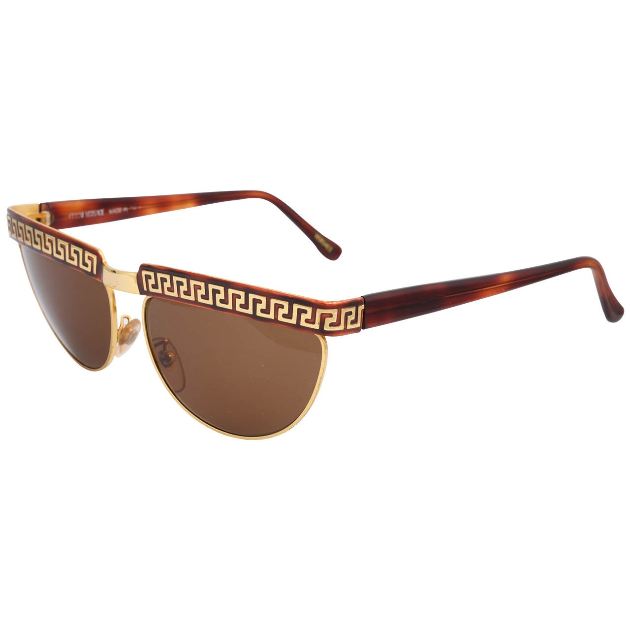 eec6ab669 GIANNI VERSACE Vintage Brown Square Sunglasses 418 54-14mm NOS.  HomeFashionAccessoriesSunglasses. Gianni Versace Vintage Sunglasses Mod S83  For Sale