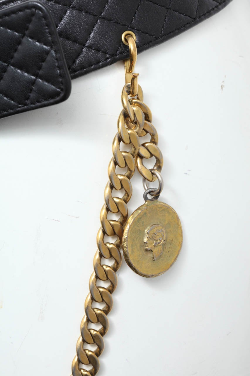 Vintage Chanel Belt with Pack and Gold Chain 7