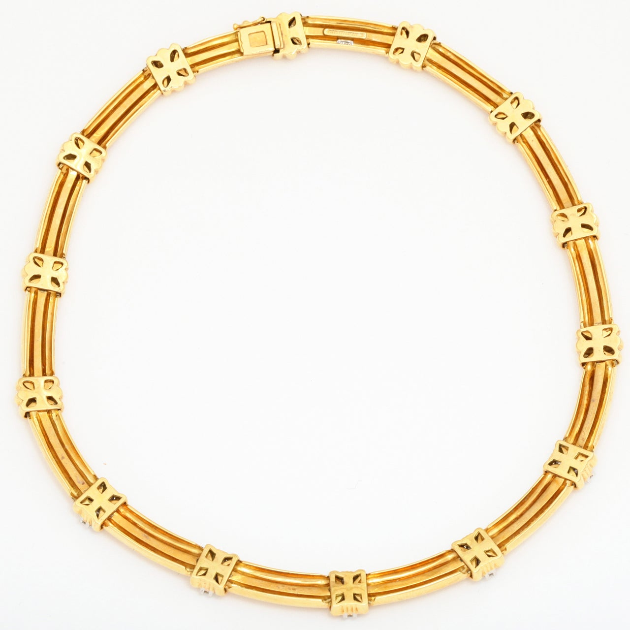 gold and quot atlas quot necklace by and co at 1stdibs