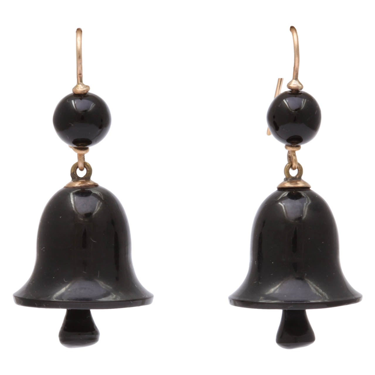 Ringing in the Original Victorian Whitby Jet Earrings