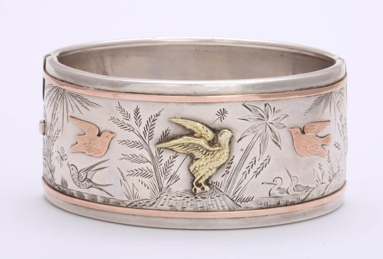 Spring Awakening:  A Victorian Cuff Bracelet 2