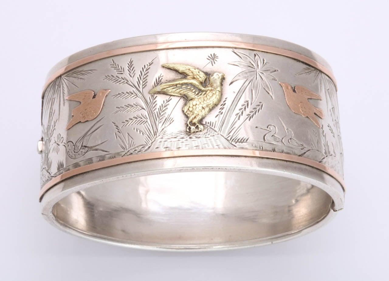 Spring Awakening:  A Victorian Cuff Bracelet 3