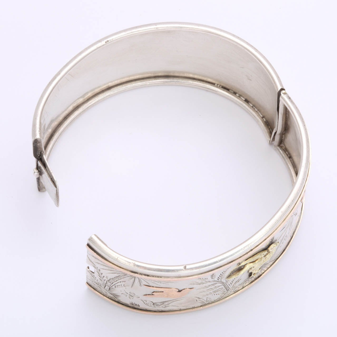 Women's Spring Awakening:  A Victorian Cuff Bracelet For Sale