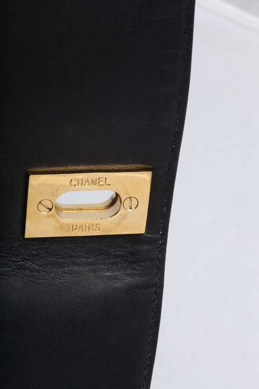 CHANEL QUILTED CLUTCH BAG 9