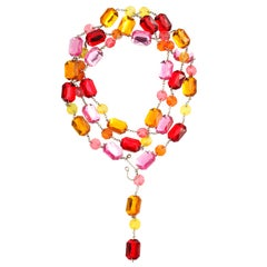 Colored Rhinestone Belt or Necklace