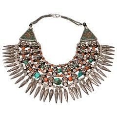 Old Tibetan Ceremonial Collar Presented by Carol Marks