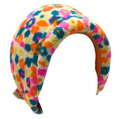 1960s Schiaparelli Hat
