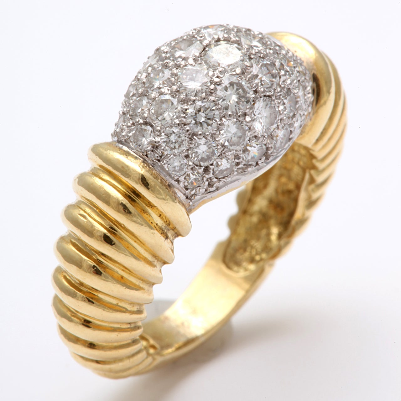 Super Chic Diamond Pinky Ring 2