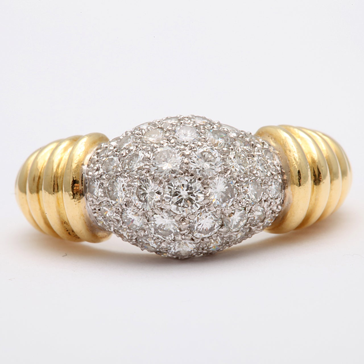 Super Chic Diamond Pinky Ring 3