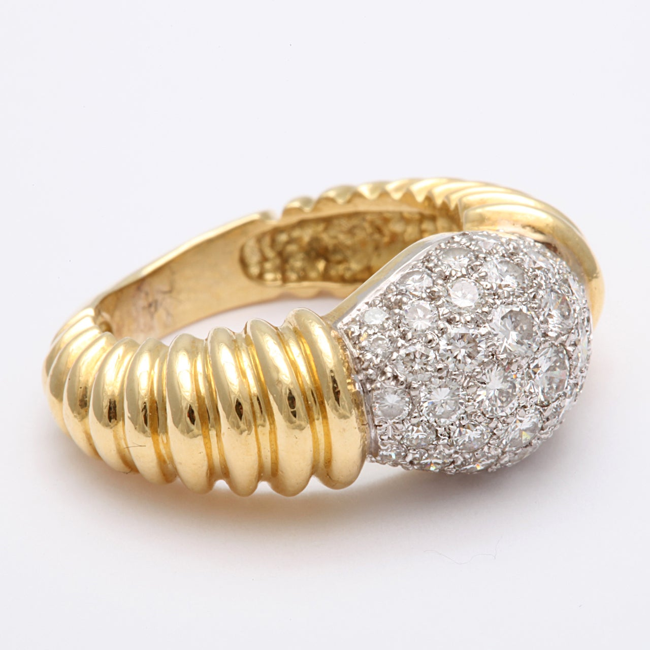 Super Chic Diamond Pinky Ring 4