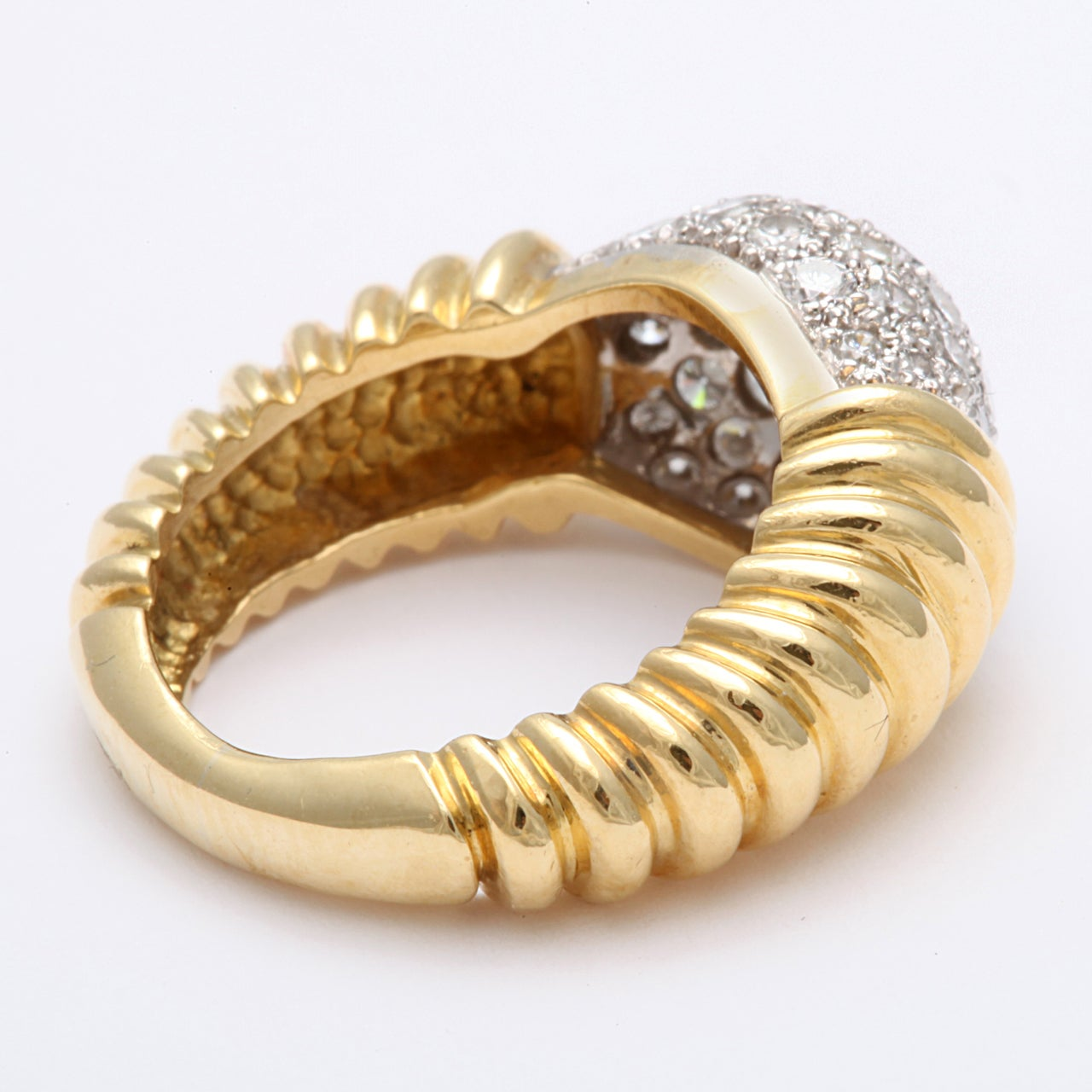 Super Chic Diamond Pinky Ring 5