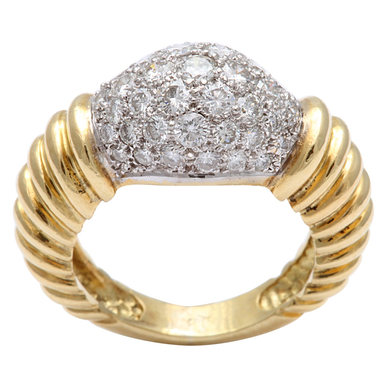 Super Chic Diamond Pinky Ring 1