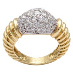 Super Chic Diamond Pinky Ring
