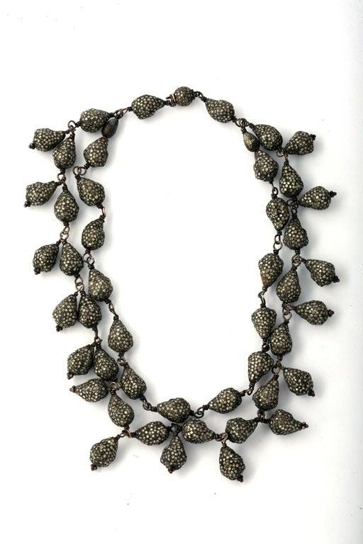 Diamond Seashell Necklace 2