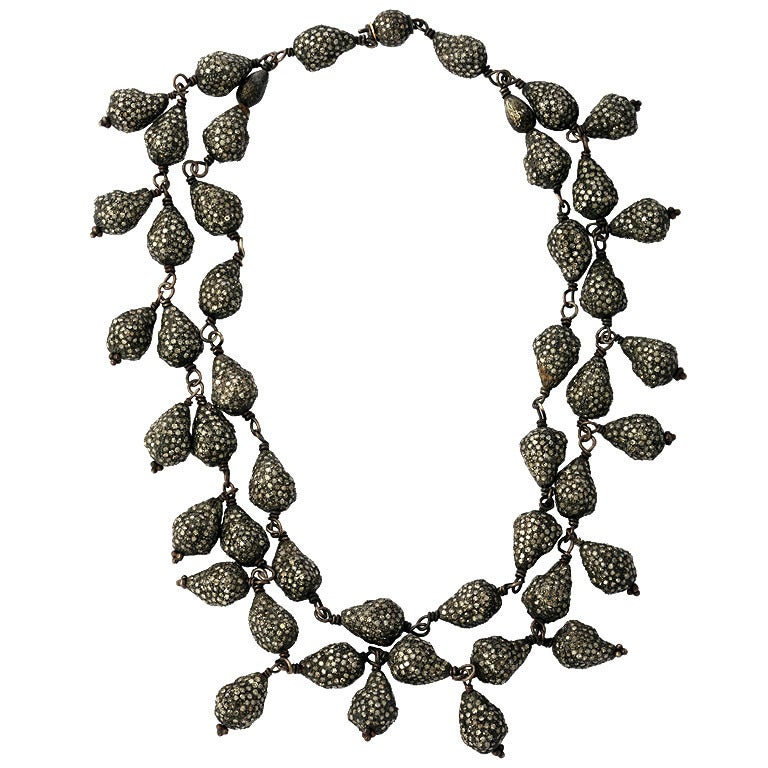 Diamond Seashell Necklace 1