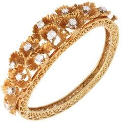 Gold & Diamond Bracelet