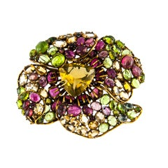 Iradj Moini Large Flower Brooch