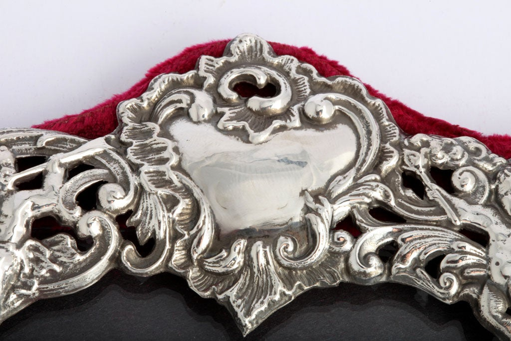 Sterling Silver Heart-Shaped Picture Frame image 3