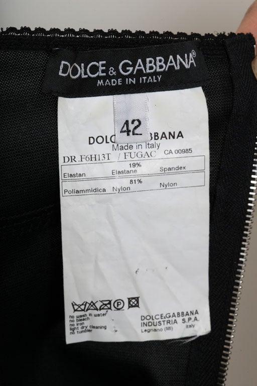 DOLCE & GABBANA LACE SLIP DRESS 5