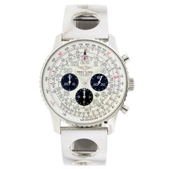 Breitling Stainless Steel Automatic Chronograph Wristwatch