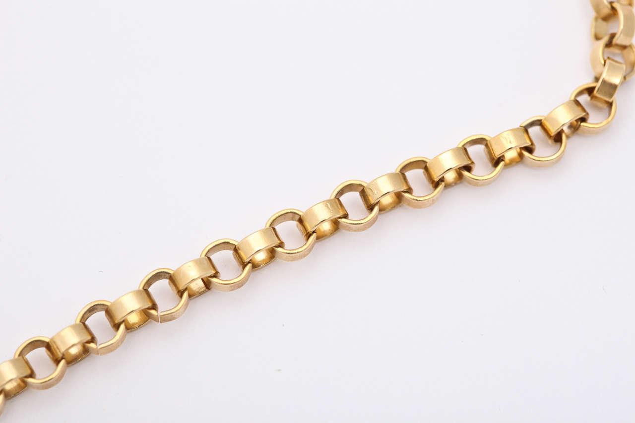 Large Mod Medallion Necklace For Sale 1