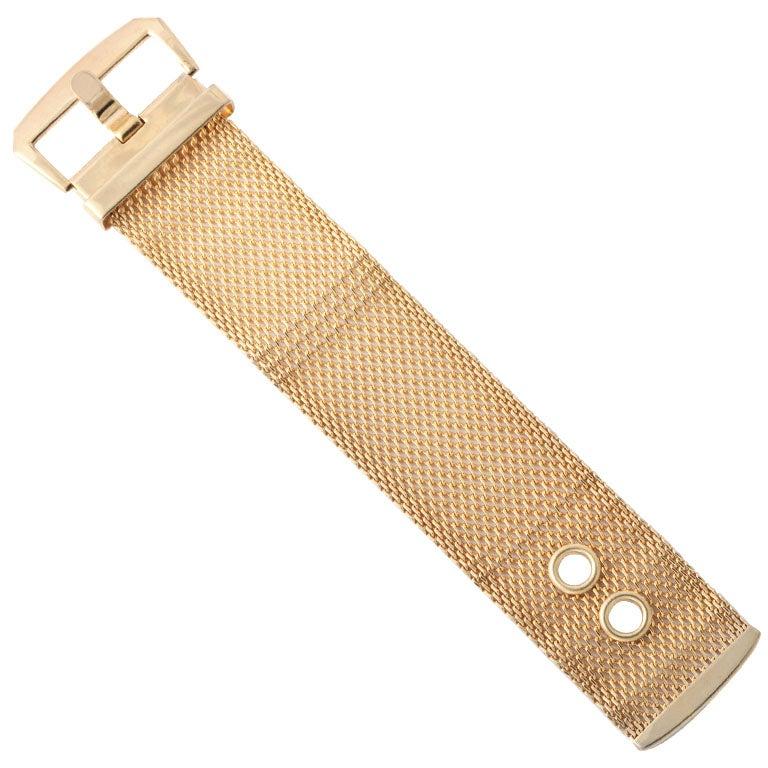 Mesh Belt Style Bracelet