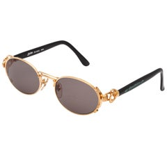 Jean Paul Gaultier Gold Sunglasses 56-6203