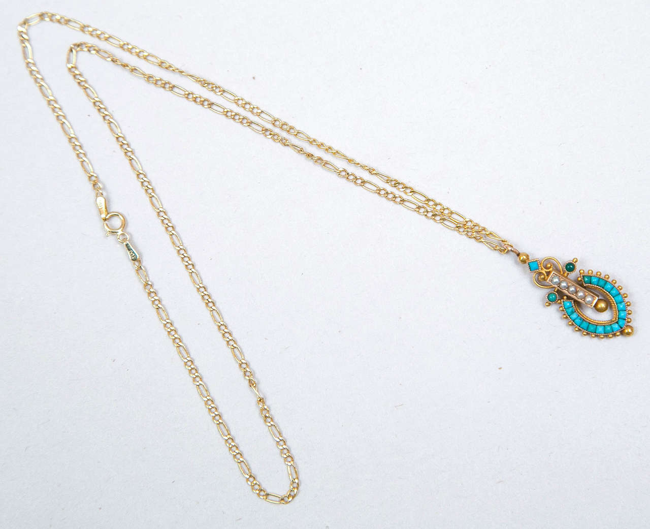 Victorian Egyptian Revival Pendant 2