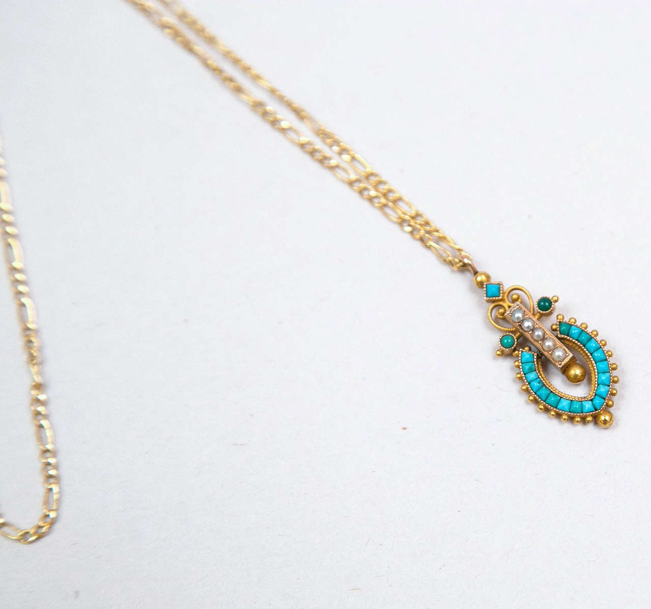 Victorian Egyptian Revival Pendant 3
