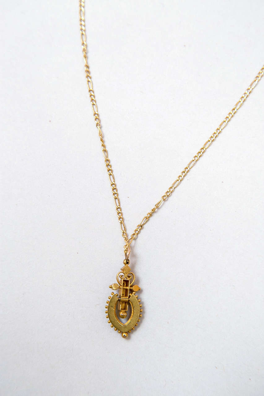 Victorian Egyptian Revival Pendant 6