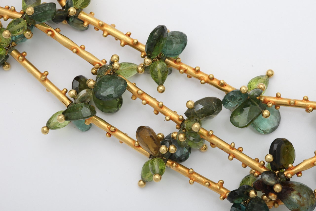 Triple vine necklace at 1stdibs for Triple j fine jewelry
