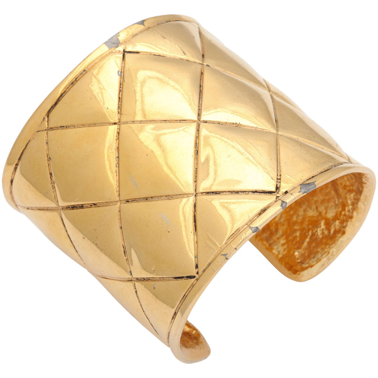 Chanel Quilted Bangle Bracelet 1