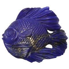 Lapis Lazuli Fish