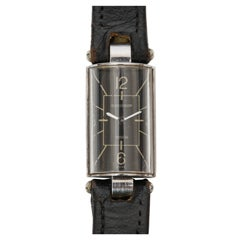 Jaeger-LeCoultre Stainless Steel Duoplan Wristwatch