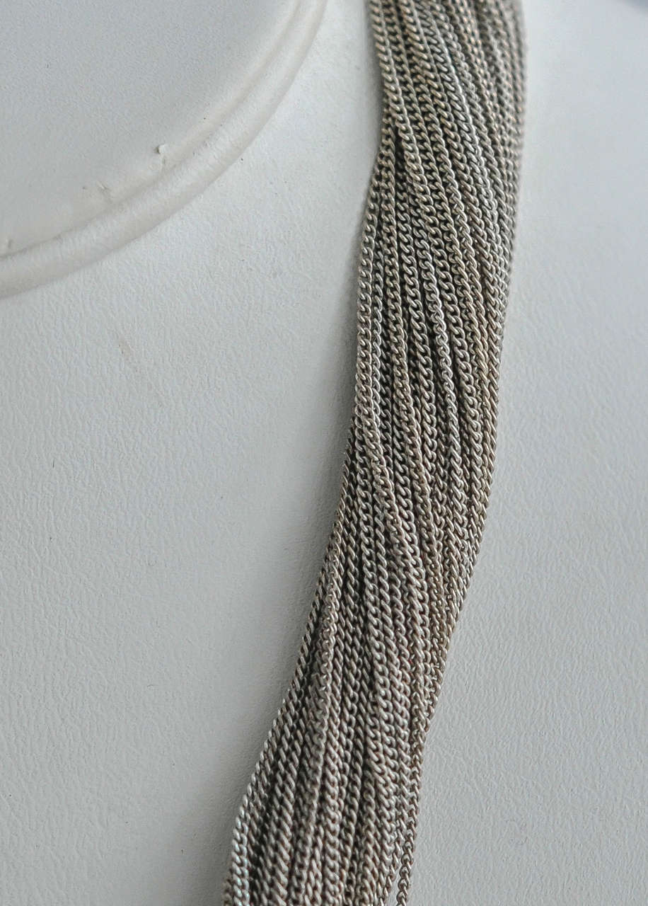 1990s Lacroix Modern Tribalist Necklace For Sale 2