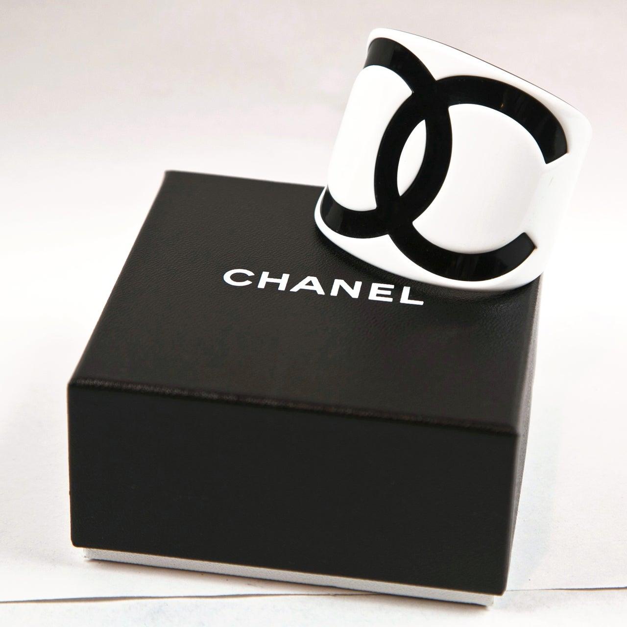 Chanel Resin Cuff image 5
