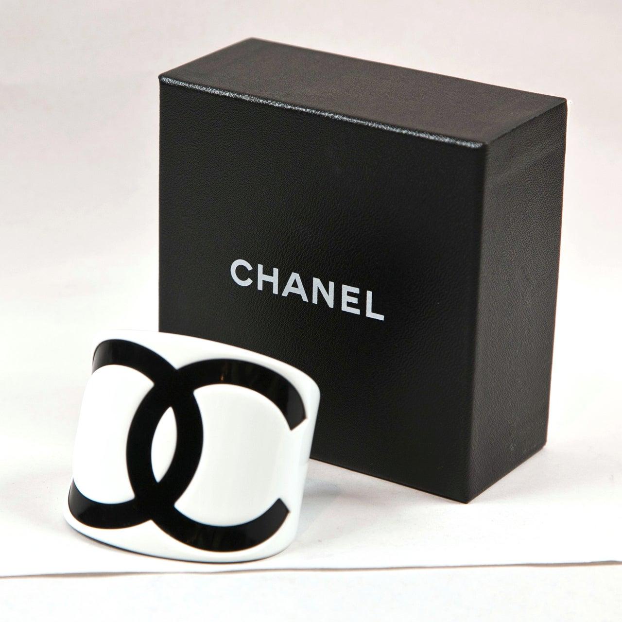 Chanel Resin Cuff image 2