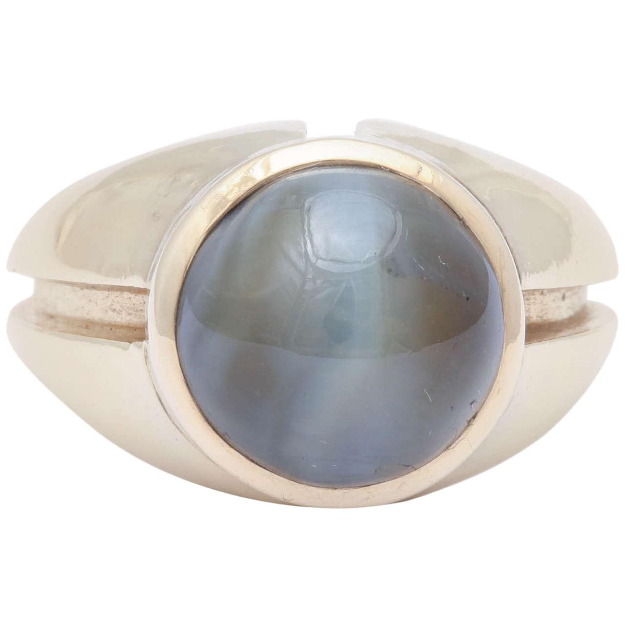 Chrysoberyl Catseye Men's Ring